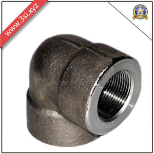 ANSI B16.11 90 Degree NPT Carbon Steel Elbow (YZF-F344) pictures & photos