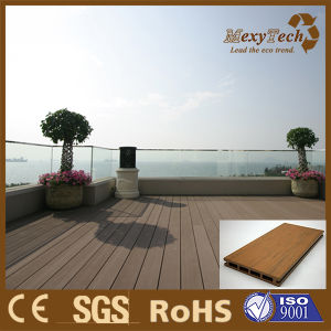 The WPC Outdoor Decking Widely Applied in Balcony pictures & photos