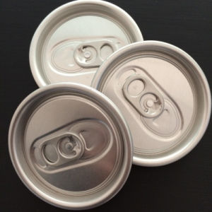 Tuvalu 200# 50mm Aluminum Cans Easy Open End Manufacturer pictures & photos