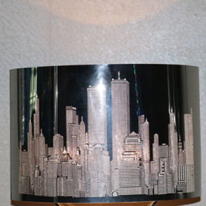 Hot Sales New York Building Pattern Table Lamp Stainless Steel LED Lighting pictures & photos