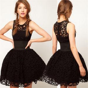 China Ladies Princess Ballroom Prom Dress Women Party Black Short ...