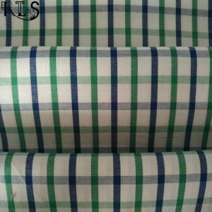 100% Cotton Poplin Woven Yarn Dyed Fabric for Shirts/Dress Rls40-23po pictures & photos