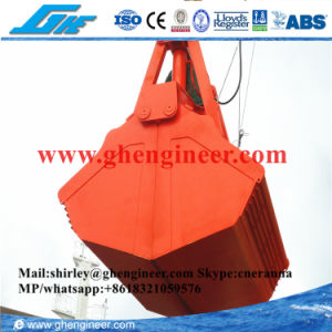 2-30m3 Electro-Hydraulic Clamshell Grab for Marine Usage pictures & photos