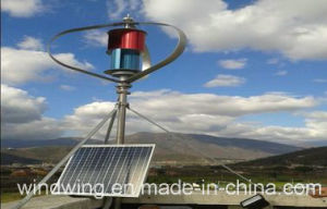 2kw off-Grid Vertical Wind Turbine Generator System for Remote Area pictures & photos