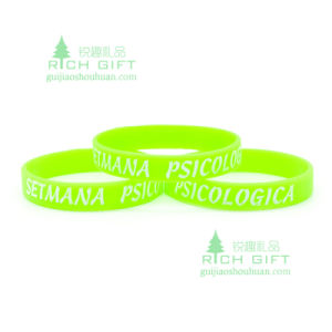 Eco-Friendly PVC Wristband for Sports and Competiton pictures & photos