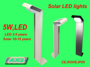 Aluminum Frame Solar Infrared Motion Sensor Garden Light (FQ-748) pictures & photos