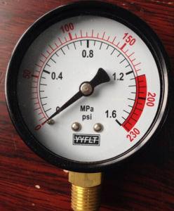 Iron No Oil Pressure Gauge
