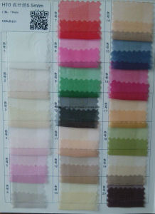 6mm Silk Organza Fabric pictures & photos
