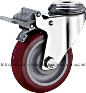 Stainless Steel Series - PU Caster pictures & photos