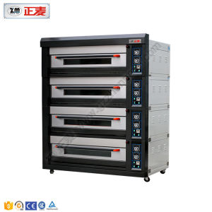 4 Decks and 20 Trays Electric Luxurious Deck Oven (ZMC-420D) pictures & photos