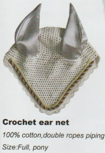 Horse Gear Crochet Ear Net