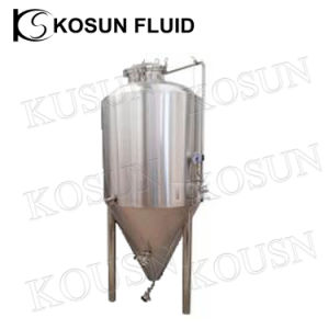 5000L Stainless Steel Jacketed Conical Ethanol Beer Cider Fermenting Tank pictures & photos