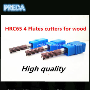 4 Flutes Cutters for Wood with High Quality Tools pictures & photos