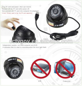 Top Selling Security Camera with SD Recording Card pictures & photos
