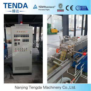 Pipe Production Line Tsh-40 Twin Screw Plastic Extruder pictures & photos