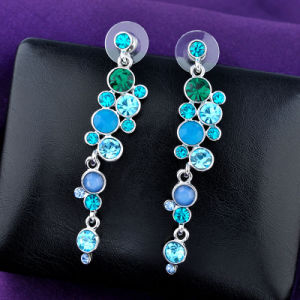 Elegant Fashion Imitation Jewelry Accessories Crystal Drop Earring pictures & photos