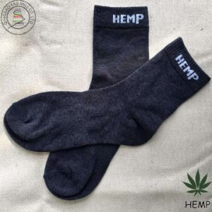 Anti-Bacterial Organic Hemp Socks for Promotiom (HS-1604) pictures & photos
