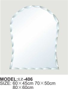 Wholesale Ornate Silver Bathroom Mirror for Interior Decoration pictures & photos
