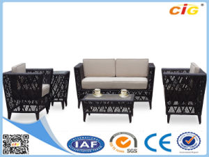 New Wicker Living Room Luxury Rattan Sofa Set pictures & photos