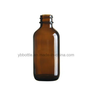 Glass Bottles, Amber Glass Boston Rounds 2oz 60ml