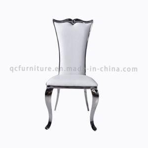 Top 10 Hot Selling Modern White PU Dining Chair pictures & photos