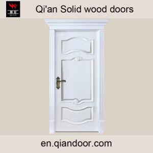 American Solid Wood Door with Door Head pictures & photos