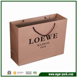 Hot Selling OEM Custom Paper Shopping Bag for Promotion pictures & photos
