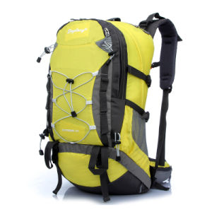Large Capacity Waterproof Outdoor Travel Hiking Backpack pictures & photos