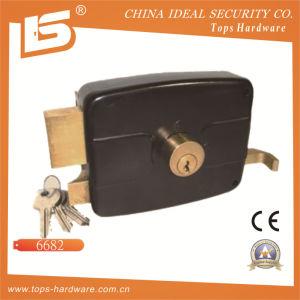 Security High Quality Door Rim Lock (6682) pictures & photos