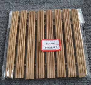(BC-M1021) Handmade Natural Bamboo Square Heat Insulation Mat pictures & photos