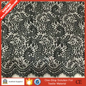 2016 Tailian New Design Wholesale Garment Black Lace Fabric pictures & photos