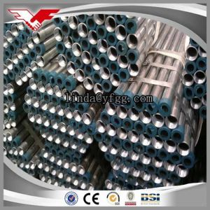 HDG Steel Pipe Bsp /NPT Threaded with Coupling or Cap pictures & photos