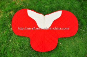 High Quality Quilted T/C Fabric Horse Saddle Pad pictures & photos
