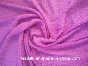 Crinkle Polyester Clip Fabric pictures & photos