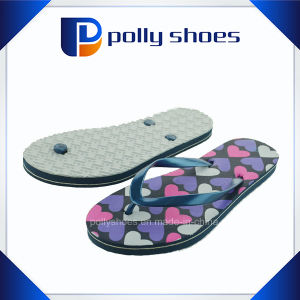 Fashion Style Ladies Beach Colorful Flip Flop pictures & photos
