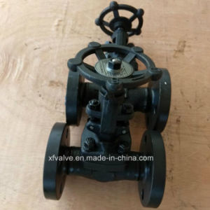 DIN Forged Carbon Steel A105 Flange Connection End Globe Valve pictures & photos