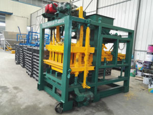 Qtj4-25c Construction Automatic Concrete Fly Ash Brick / Block Making Machine pictures & photos