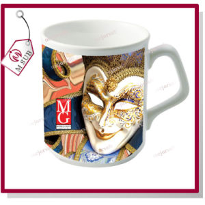 9oz Sublimation Ceramic Mug with Custom Logo pictures & photos