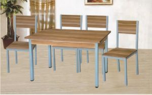 Cheap dining room furniture table and chairs pictures & photos