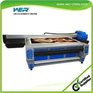 Wer-Ep2514UV CE ISO Approved High Quality Best Service Brother Jet UV LED Printer pictures & photos