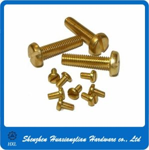 Slotted Pan Head Brass Screw pictures & photos