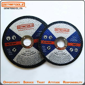 "5"" Type 41 Abrasive Flat Cut-off Wheel for Metal Steel Cutting pictures & photos"