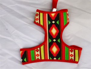 Special Design Leather Dog Harness Pattern Webbing Harness pictures & photos