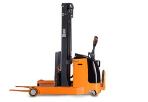 1.5 Ton Electric Reach Stacker with Lifting Height 1.6m to 5.5m pictures & photos