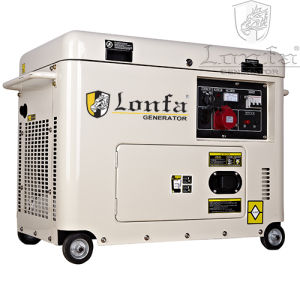 5kVA/6kVA/7kVA/8kVA 3-Phase Sound Proof Diesel Generator for Sale pictures & photos
