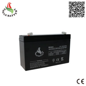 6V 12ah Rechargeable Lead Acid AGM Battery for Solar System pictures & photos
