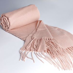 Fashion Accessories Light Skin Color Cashmere Wrap Lady Scarf pictures & photos