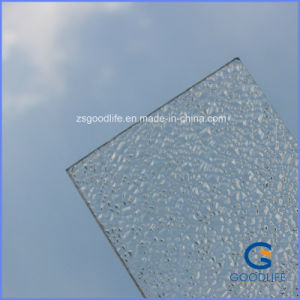 Transparent Polycarbonate Hollow Sheet Provide with SGS RoHS Certificate pictures & photos