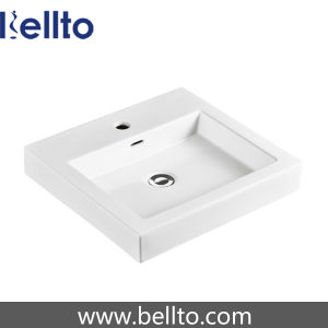 Rectangular wall hung basin vanity units for bathrooms (3340) pictures & photos