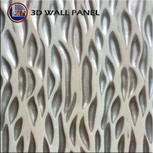 Zhihua 3D Embossed Interior Decorative MDF Wall Panel pictures & photos